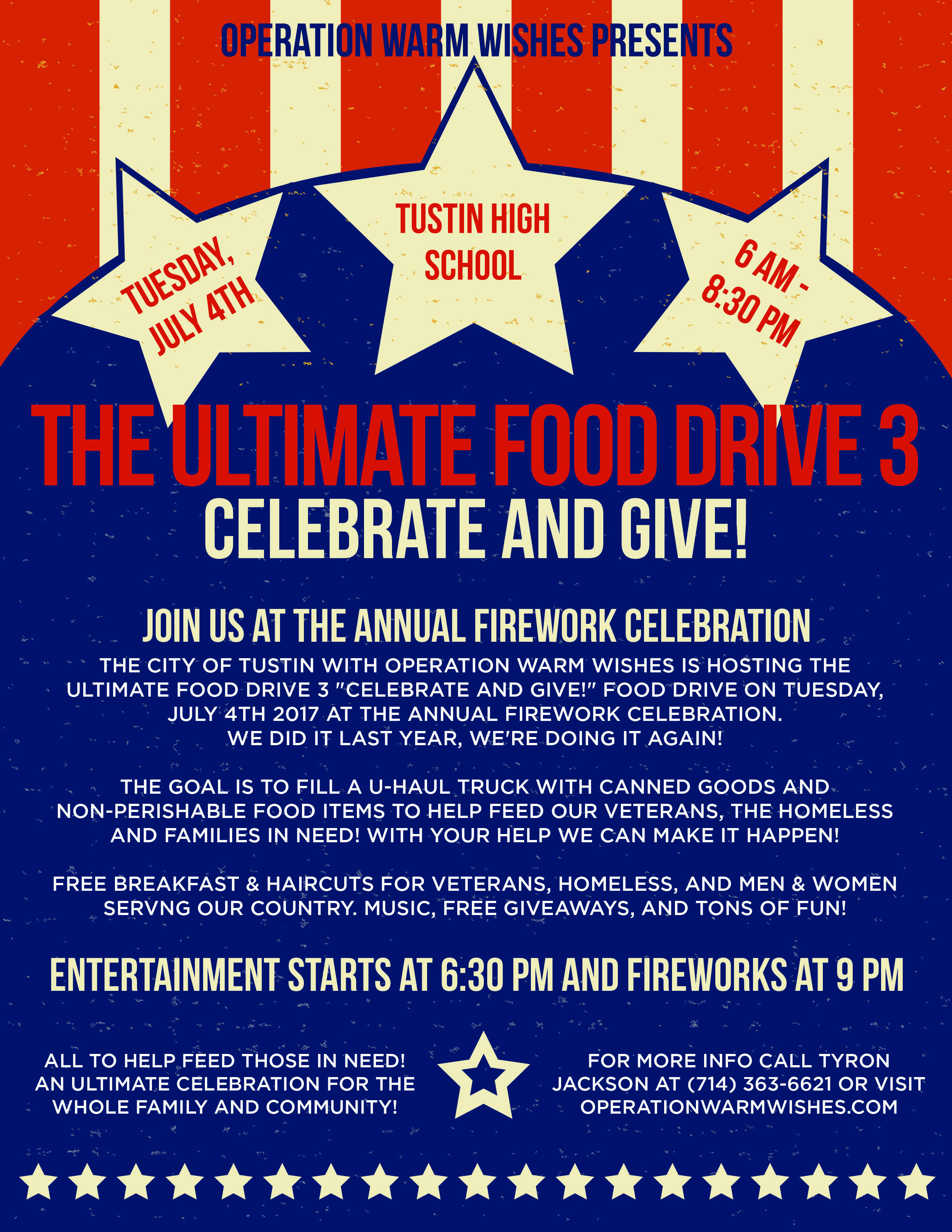 Free Food For Veterans On July Th