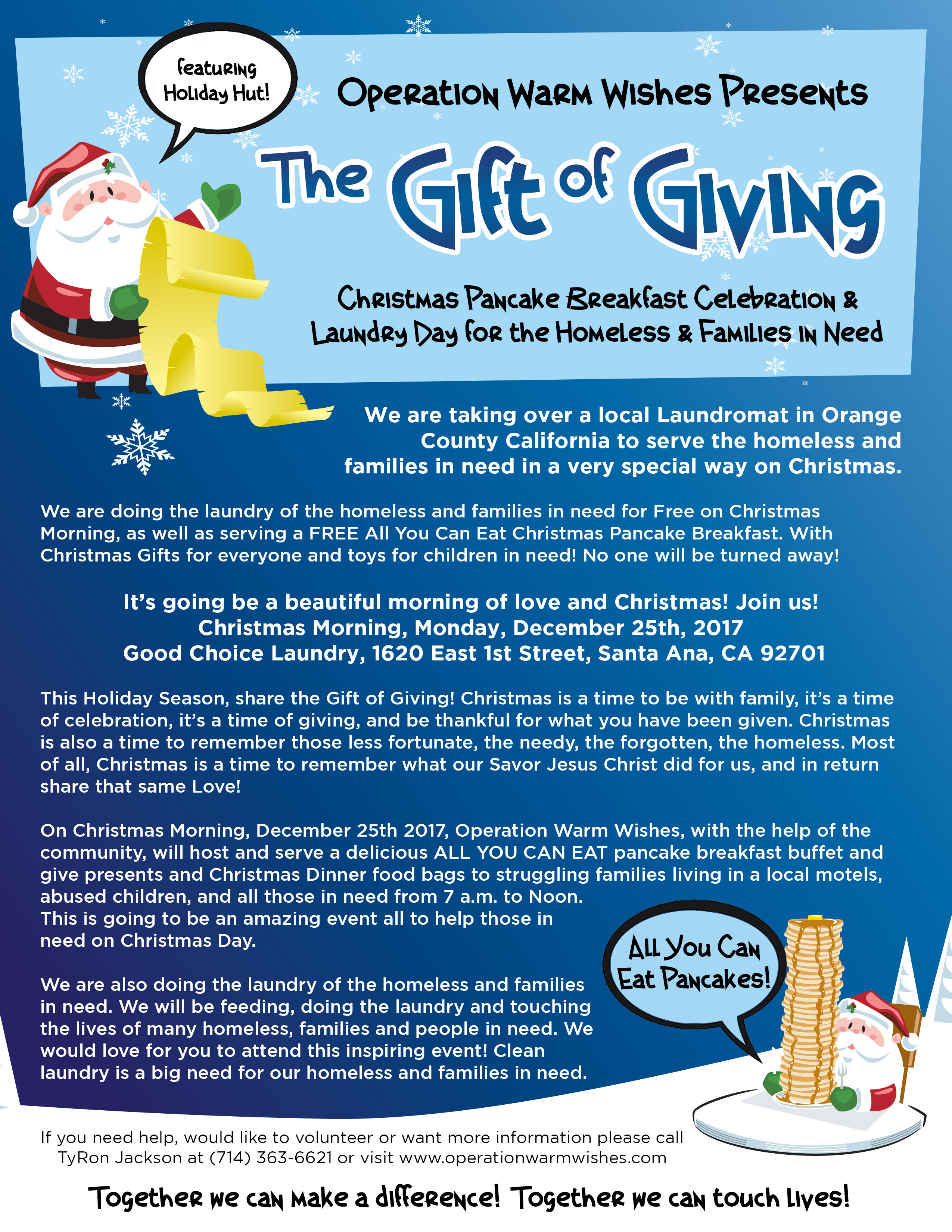 Operation Warm Wishes Presents: The Gift of Giving Christmas ...